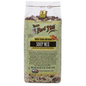 Bob's Red Mill, Mix de Sopa, Grãos e Feijões Inteiros, 26 oz (737 g)   Comprar Suplemento em Promoção Site Barato e Bom