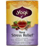 Yogi Tea Organic Teas Kava EEstressee Chá Orgânico Relief 16 Sacos   Comprar Suplemento em Promoção Site Barato e Bom