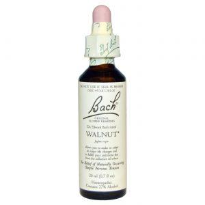 Bach Flower Remedies Walnut Flower Essence 20 ml   Comprar Suplemento em Promoção Site Barato e Bom