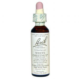 Bach Flower Remedies White Chestnut Flower Essence 20 ml   Comprar Suplemento em Promoção Site Barato e Bom