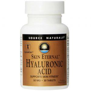 Source Naturals Pele Ácido Hialurônico Eterno 30 Tabletes   Comprar Suplemento em Promoção Site Barato e Bom