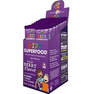 Amazing Grass Kidz Superfood, baga - 15 Individual Packets   Comprar Suplemento em Promoção Site Barato e Bom