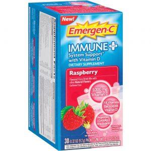 Alacer Emergen-C Imunológico mais, Framboesa - 30 packets   Comprar Suplemento em Promoção Site Barato e Bom