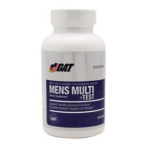 GAT Mens Multi + Test - 60 Tabletes   Comprar Suplemento em Promoção Site Barato e Bom