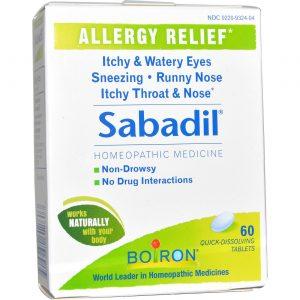 Boiron Sabadil-alérgicos 60 Tabletes   Comprar Suplemento em Promoção Site Barato e Bom