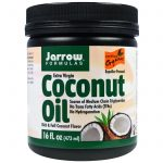 Jarrow Formulas, Óleo de Coco Orgânico Extravirgem, 16 oz (473 g)   Comprar Suplemento em Promoção Site Barato e Bom
