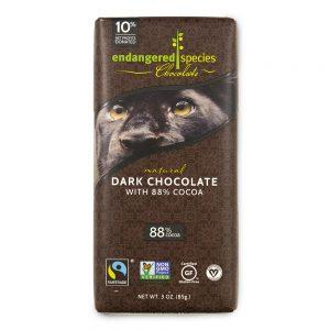 Endangered Species Chocolate, Natural Dark Chocolate with 88% Cocoa, 3 oz (85 g)   Comprar Suplemento em Promoção Site Barato e Bom