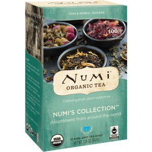 Numi Tea, Chá orgânico, Chás e Teasans de Ervas, Numi's Collection, 16 sachês de chá sem transgênicos, 1,26 oz (34,7 g)   Comprar Suplemento em Promoção Site Barato e Bom