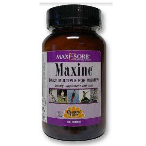 Country Life Maxine para as Mulheres 60 Tabletes   Comprar Suplemento em Promoção Site Barato e Bom