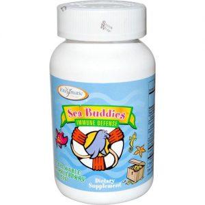 Enzymatic Therapy Mar Buddies Imune Defesa Tabletes 60 Chew   Comprar Suplemento em Promoção Site Barato e Bom