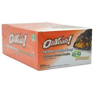 Iss Ohyeah! Bar Chocolate Caramel Candies - Gluten Free - 12 - 1.59 oz (45 g) bar [19.08 oz (1.19 lb)] box   Comprar Suplemento em Promoção Site Barato e Bom