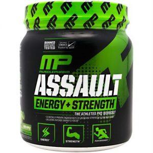 Musclepharm Sport Series Assault Green Apple - 30 Servings   Comprar Suplemento em Promoção Site Barato e Bom