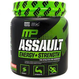 Musclepharm Sport Series Assault Strawberry Ice - 30 Servings   Comprar Suplemento em Promoção Site Barato e Bom