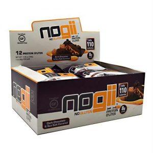 Nogii Protein D'lites Dark Chocolate & Sea Salt Caramel - Gluten Free - 12 - 1 oz (28 g) Bars   Comprar Suplemento em Promoção Site Barato e Bom
