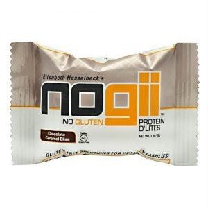 Nogii Protein D'lites Chocolate Caramel Bliss - Gluten Free - 198 - 1.02 OZ Bars   Comprar Suplemento em Promoção Site Barato e Bom