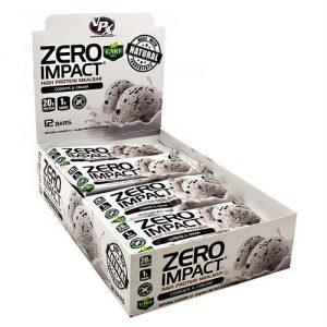 Vpx Zero Impact Bar Cookies & Cream - Gluten Free - 12 - 51 g Bars   Comprar Suplemento em Promoção Site Barato e Bom
