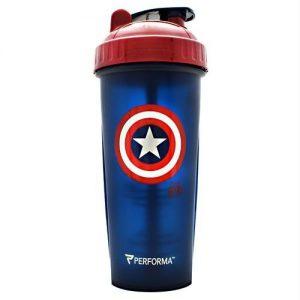 Perfect Shaker Infinity War Series Shaker Cup Captain America   Comprar Suplemento em Promoção Site Barato e Bom