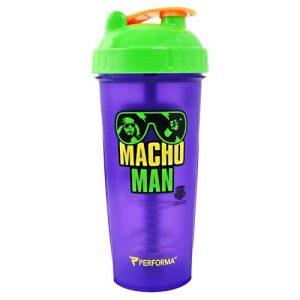 Perfectshaker Wwe Collection Series Shaker Cup Macho Man   Comprar Suplemento em Promoção Site Barato e Bom