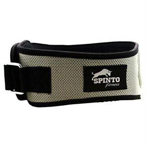 Spinto Foam Core Lifting Belt Silver - X-LG   Comprar Suplemento em Promoção Site Barato e Bom