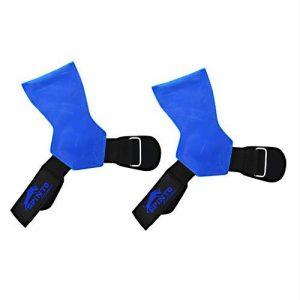 Spinto Leather Lifting Grips Blue   Comprar Suplemento em Promoção Site Barato e Bom