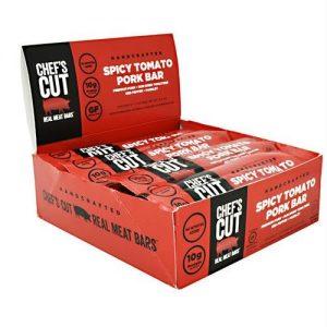 Chef's Cut Real Jerky Real Meat Bar Spicy Tomato Pork - Gluten Free   Comprar Suplemento em Promoção Site Barato e Bom