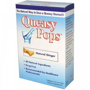 Three Lollies Queasy Pops Gengibre 7 Lollipops   Comprar Suplemento em Promoção Site Barato e Bom