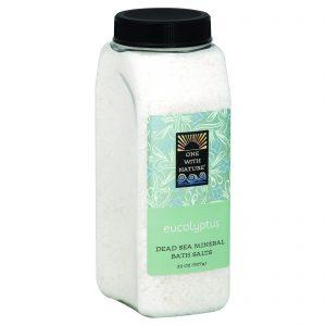 One With Nature Bath Salts - Dead Sea Mineral - Eucalyptus - 32 Oz   Comprar Suplemento em Promoção Site Barato e Bom