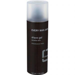 Every Man Jack Shave Gel - Sensitive Skin - Fragrance Free - 7 Oz   Comprar Suplemento em Promoção Site Barato e Bom