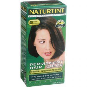 Naturtint Hair Color - Permanent - 4g - Golden Chestnut - 5.28 Oz   Comprar Suplemento em Promoção Site Barato e Bom