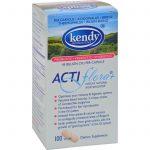 Kendy Usa Prebiotic Probiotic Symbiotic Actiflora Plus - 100 Capsules   Comprar Suplemento em Promoção Site Barato e Bom