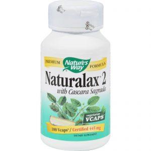 Nature's Way Naturalax 2 With Cascara Sagrada - 100 Vcaps   Comprar Suplemento em Promoção Site Barato e Bom