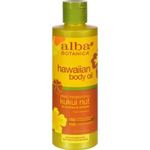 Alba Botanica Hawaiian Body Oil Kukui Nut - 8.5 Fl Oz   Comprar Suplemento em Promoção Site Barato e Bom