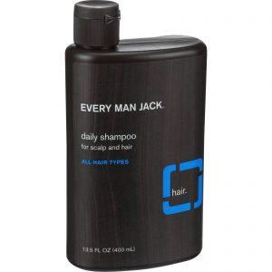 Every Man Jack Daily Shampoo - Scalp And Hair - All Hair Types - Signature Mint - 13.5 Oz   Comprar Suplemento em Promoção Site Barato e Bom