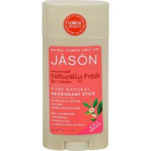 Jason Deodorant Stick For Women Naturally Fresh - 2.5 Oz   Comprar Suplemento em Promoção Site Barato e Bom