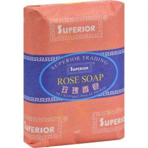 Superior Bee And Flower Rose Soap - 2.85 Oz   Comprar Suplemento em Promoção Site Barato e Bom