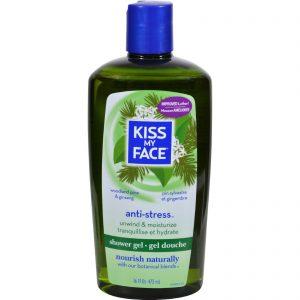 Kiss My Face Bath And Shower Gel Anti-stress Woodland Pine And Ginseng - 16 Fl Oz   Comprar Suplemento em Promoção Site Barato e Bom