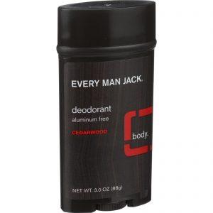 Every Man Jack Body Deodorant - Cedarwood - Aluminum Free - 3 Oz   Comprar Suplemento em Promoção Site Barato e Bom