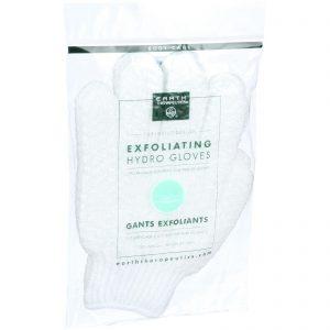 Earth Therapeutics Hydro Gloves - Exfoliating - White - 1 Pair   Comprar Suplemento em Promoção Site Barato e Bom