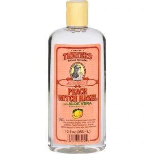 Thayers Witch Hazel With Aloe Vera Peach - 12 Fl Oz   Comprar Suplemento em Promoção Site Barato e Bom