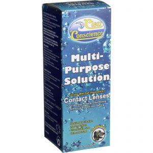 Clear Conscience Multi Purpose Contact Lens Solution - 12 Oz   Comprar Suplemento em Promoção Site Barato e Bom