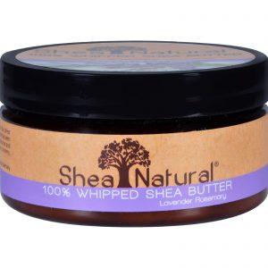 Shea Natural Whipped Shea Butter Lavender Rosemary - 6.3 Oz   Comprar Suplemento em Promoção Site Barato e Bom