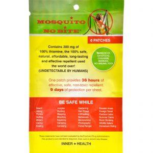 Inner Health Mosquito No Bite - 6 Pack   Comprar Suplemento em Promoção Site Barato e Bom