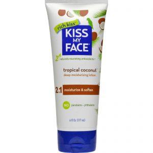 Kiss My Face Moisturizer - Coconut - 6 Oz   Comprar Suplemento em Promoção Site Barato e Bom