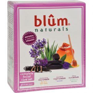 Blum Naturals Complete Facial Care Set - 3 Piece Set   Comprar Suplemento em Promoção Site Barato e Bom