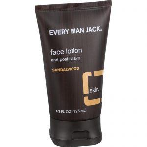 Every Man Jack Face Lotion And Post Shave - Sandalwood - 4.2 Oz   Comprar Suplemento em Promoção Site Barato e Bom