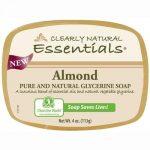 Clearly Natural Glycerin Bar Soap - Almond - 4 Oz   Comprar Suplemento em Promoção Site Barato e Bom