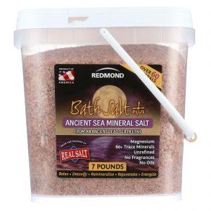 Redmond Clay Bath Salt Plus - 7 Lb.   Comprar Suplemento em Promoção Site Barato e Bom