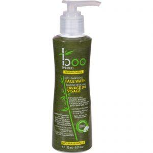 Boo Bamboo Face Wash - Skin Balancing - 5.07 Fl Oz   Comprar Suplemento em Promoção Site Barato e Bom