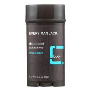 Every Man Jack Body Deodorant - Fresh Scent - 3 Oz   Comprar Suplemento em Promoção Site Barato e Bom