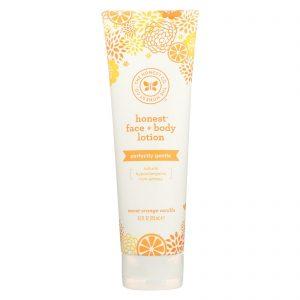 The Honest Company Face And Body Nourishing Lotion - Sweet Orange Vanilla - 8.5 Fl Oz.   Comprar Suplemento em Promoção Site Barato e Bom